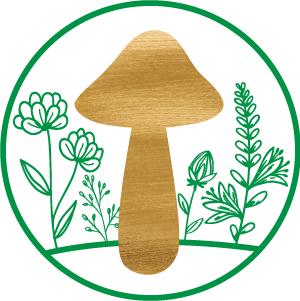 glückspilz Blumen Logo